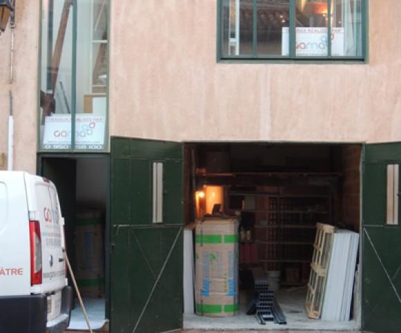 Façade avant rénovation