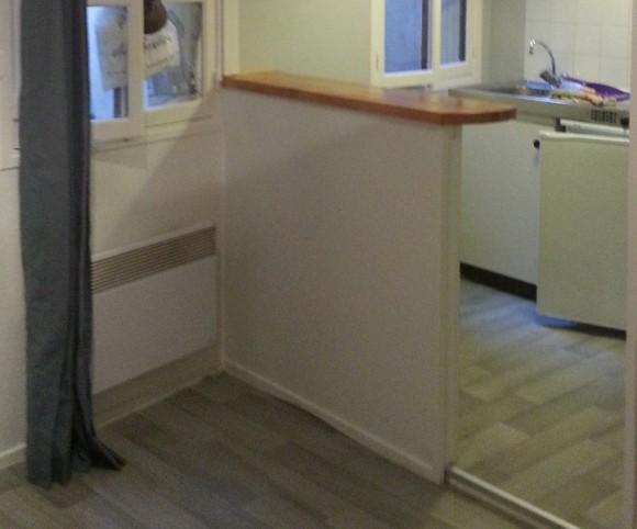 Peinture et sol PVC