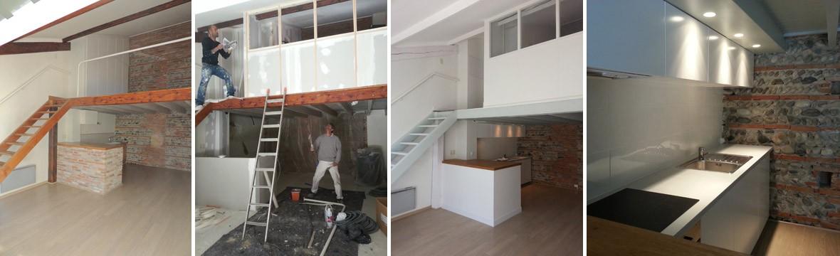 Travaux renovation maison Toulouse