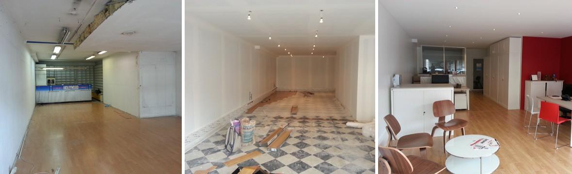 Travaux renovation local professionnel Toulouse