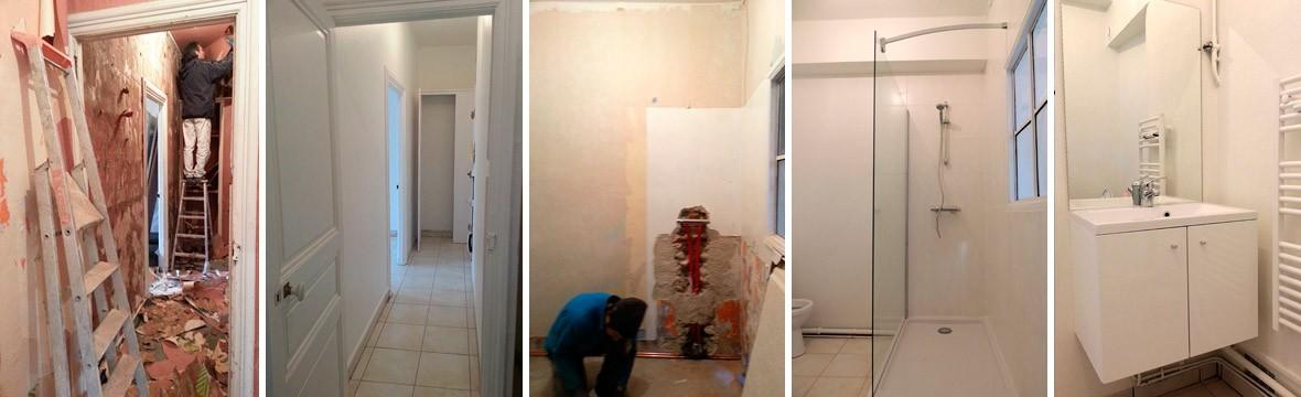 Travaux renovation appartement Toulouse