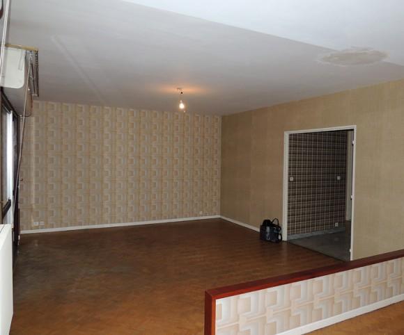 Salon avant rénovation