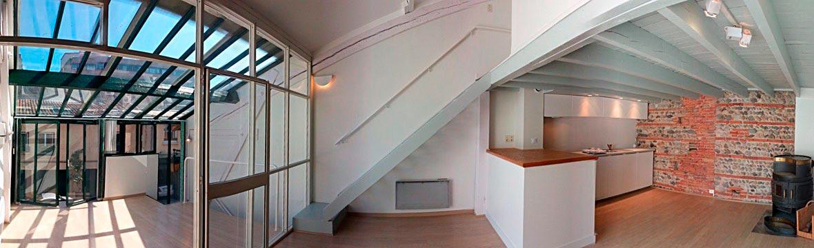 Renovation intérieure maison Toulouse