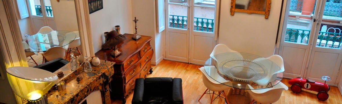 Rénovation salon appartement Toulouse